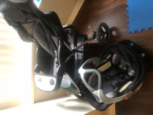 Babytrend Travel system - stroller, car seat and base