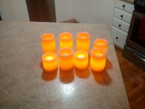 72 battery operated candles for Wedding or partys