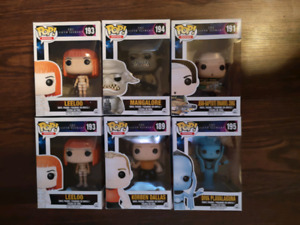 Fifth Element Funko Pops
