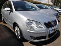 2008 VOLKSWAGEN POLO 1.4 Match 80 5dr