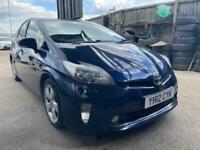 2012 Toyota Prius 1.8 VVTi T Spirit 5dr CVT Auto HATCHBACK Petrol/Electric Hybri