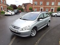 Peugeout 307 1.6 petrol full service history