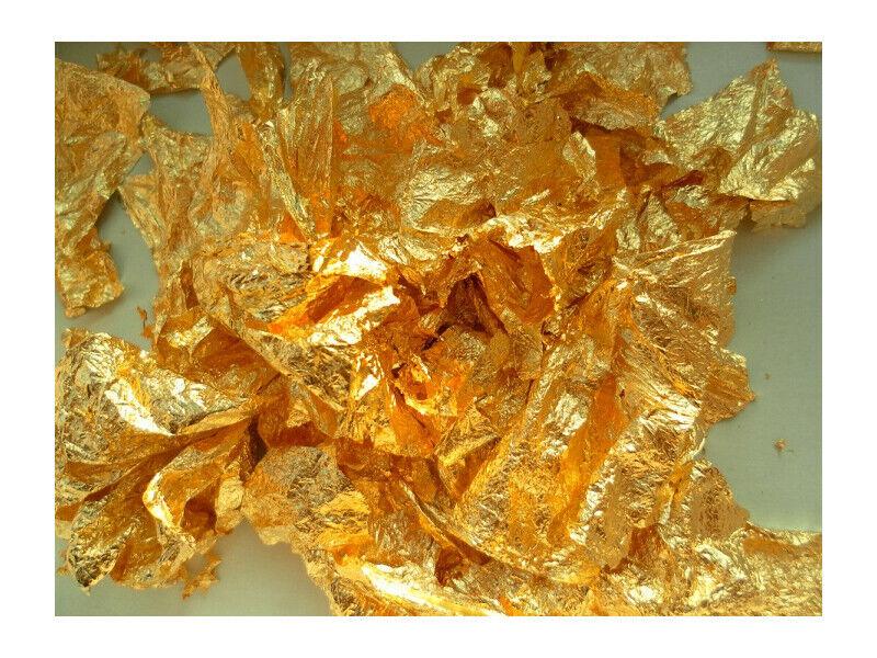 1 Gram Gold Leaf Flake - Huge Beautiful Flakes - Best Price on Ebay
