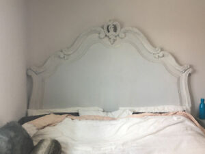 King Size Solid Wood Bed (adjustable to Queen)