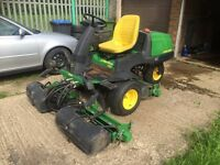 Ride on mower diesel john deere