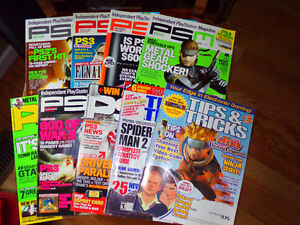 VIDEO GAME MAGAZINE LOT OF 9