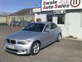 2012 BMW 1 SERIES 118D EXCLUSIVE EDITION 2L- 33,308 MILES - FULL SERVICE HISTORY