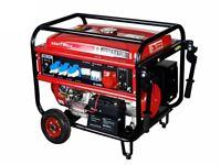 Generator KRAFTWELE KW8800 3 Phase 8,8KW Petrol