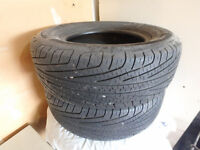 2 Michelin All Season 215/70r14 97T Tires GREAT CONDITION