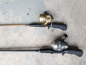 Two fishing rods