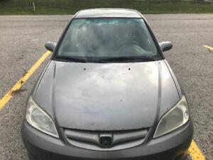 Quick Sale! 2004 Honda Civic
