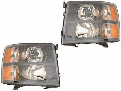 TIFFIN ALLEGRO 2013 2014 2015 HEADLIGHT BLACK HEAD LIGHT FRONT LAMP RV NEW - SET