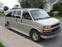 Chevrolet Express van 2007 12 passagers 3500