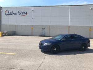 Ford Taurus Police Interceptor Bleu AWD 2014