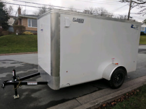 Enclosed Cargo Trailer 5x10.5  Brand New 2017 3 Years warranty