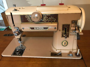 Singer Slant o matic sewing machine 1960s