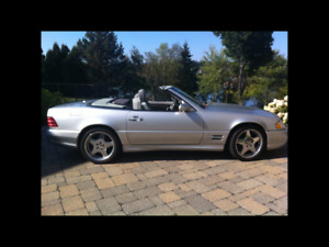 2001 Mercedes-Benz 500-Series Cabriolet