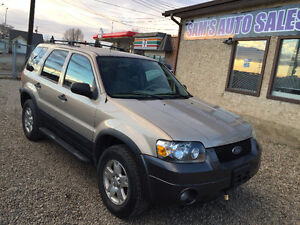 2007 FORD ESCAPE FULLY LOADED...4X4 ...VERY CLEAN Edmonton Edmonton Area image 5