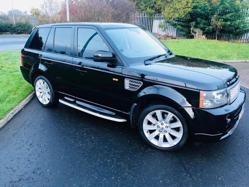 2007 land rover range rover sport 4 2 v8 supercharged hst 5dr in broomhill glasgow gumtree. Black Bedroom Furniture Sets. Home Design Ideas