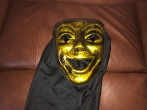mime mask with hood