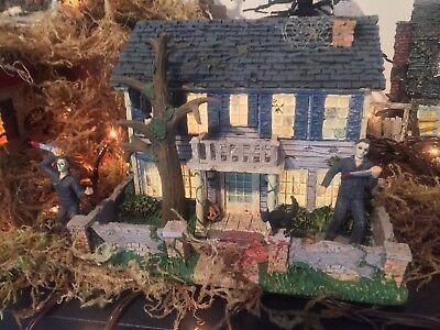RARE..Halloween..Hawthorne Village Michael Myers..(DOYLE HOUSE)👀👀👀👀👀👀👀
