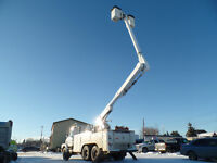 1993 WITEGMC DOUBLE BUCKET TRUCK AT www.knullent.com