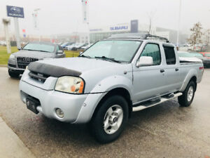 2002 NISSAN FRONTIER CREW CAB 4X4 IN EXCELLENT CONDITION!!