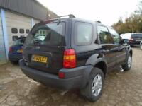 FORD MAVERICK 3.0 XLT AUTOMATIC 5DR 4X4 BLACK - SPARES OR REPAIRS