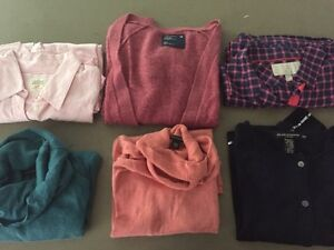 Lot of 6 tops!  Build your fall wardrobe - size S/M