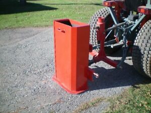 Ballast Box for Compact Tractor