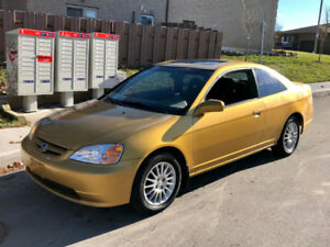 gold 2002 honda civic-si-daily driver!- till sold-