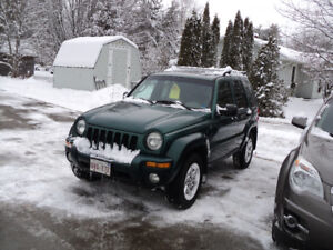 2004 Jeep Liberty SUV, Crossover 4X4
