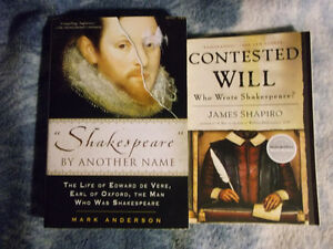 "lit texts: ""Contested Will"" and Shakespeare by Another Name"""