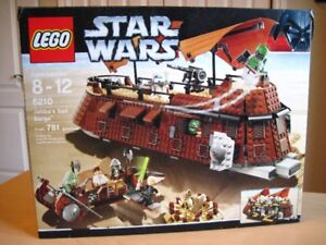 Lego set 6210 Star Wars Jabba's Sail Barge, Complet avec boite