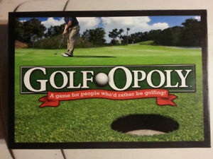 GOLF - OPOLY  GAME