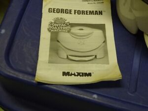 George Foreman Grill for sale
