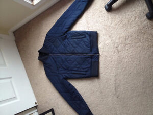 FS: Club Monaco Quilted Cotton Bomber