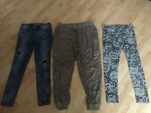 Pants for sale, used minimally