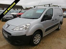 2012 61 PEUGEOT PARTNER 1.6 HDI SE L2 750 LWB FULLY RACKED OUT 37621 MILES ONLY