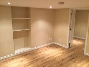 1 Bedroom basement apartment $635 inclusive.  Available immedia.