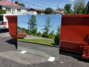 Grand mirroir 84x70 pouces