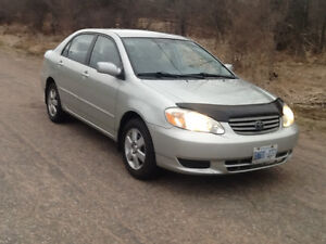 2003 Toyota Corolla Le Sedan ***ONE OWNER&SAFETIED***