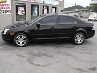88,000 KMS  2007 FUSION SE  SUNROOF  LEATHER  A MUST SEE CAR  !