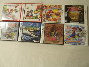 Nintendo DS, Nintendo 3DS games, Zelda, Mario, Starfox +++
