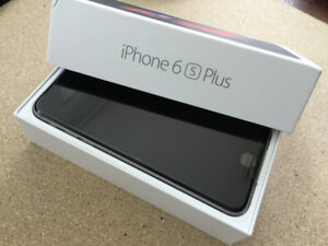 FACTORY UNLOCKED APPLE IPHONE 6S PLUS 64GB SPACE GREY BOXED $429