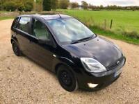 2004 Ford Fiesta 1.4TDCi Ghia - MOT OCT/18 - 78K miles - Road Tax £ 30.00 -64MPG