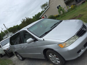 Inspected and daily driven! 2003 Honda oddysey