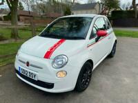 2012 Fiat 500 0.9 TwinAir 3dr HATCHBACK Petrol Manual