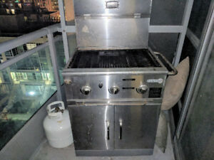BBQ for sale with full gas tank