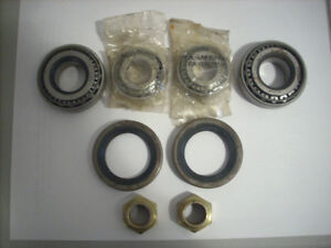 FIAT 124 SPIDER / SPORT COUPE FRONT WHEEL BEARING KIT